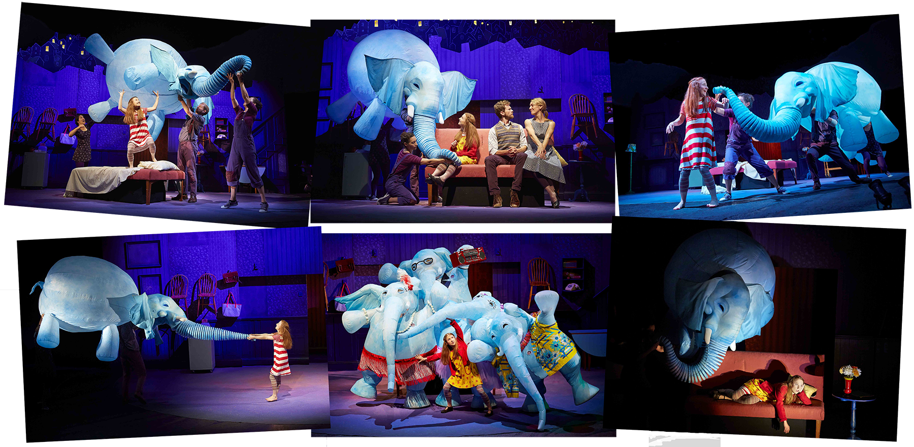 The Elephantom at London's Royal National Theatre photos courtesy of Dan Wooler