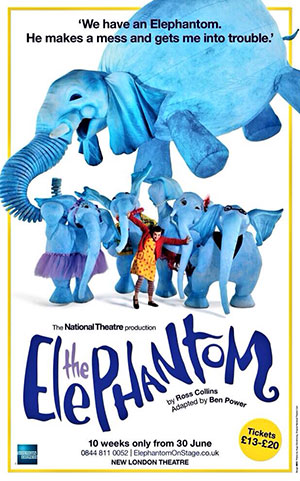 The Elephantom Theatre Poster